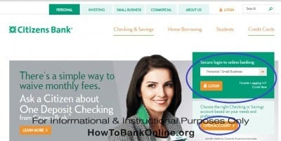 Charter One Online Banking Login