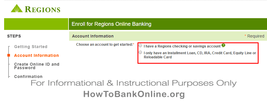 Regions Bank Text Banking Option