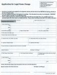 Alaska Application for Name Change Form