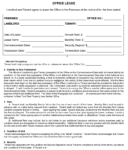 New York Office Lease Agreement