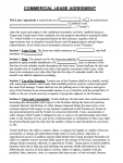 Free Printable Ohio Rental Lease Agreement Pdf Docx