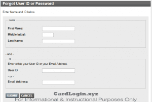 AmTrust Credit Card login retrieval