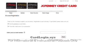 Activate your JCPenney credit card