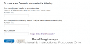 Forgot ACEP cash rewards login details