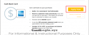 Apply for AmTrust Cash Back Credit Card