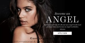 Apply for VS Angel Credit Card