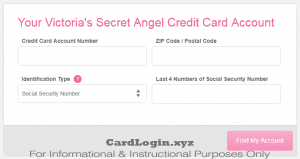 Activate VS Angel Credit Card