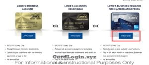Apply for Lowe's Business Rewards Card