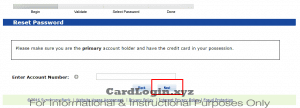 Forgot Lowe's Consumer Card Login Details