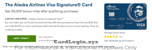 Apply for Alaska Airlines Visa Signature card
