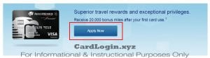 Apply for AeroMexico Signature card