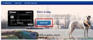 Apply for US Bank Visa Card