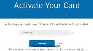 Activate your Citibank Credit Card