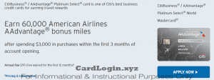 Apply for AAdvantage credit card