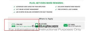 Apply for Menards Contractor Card