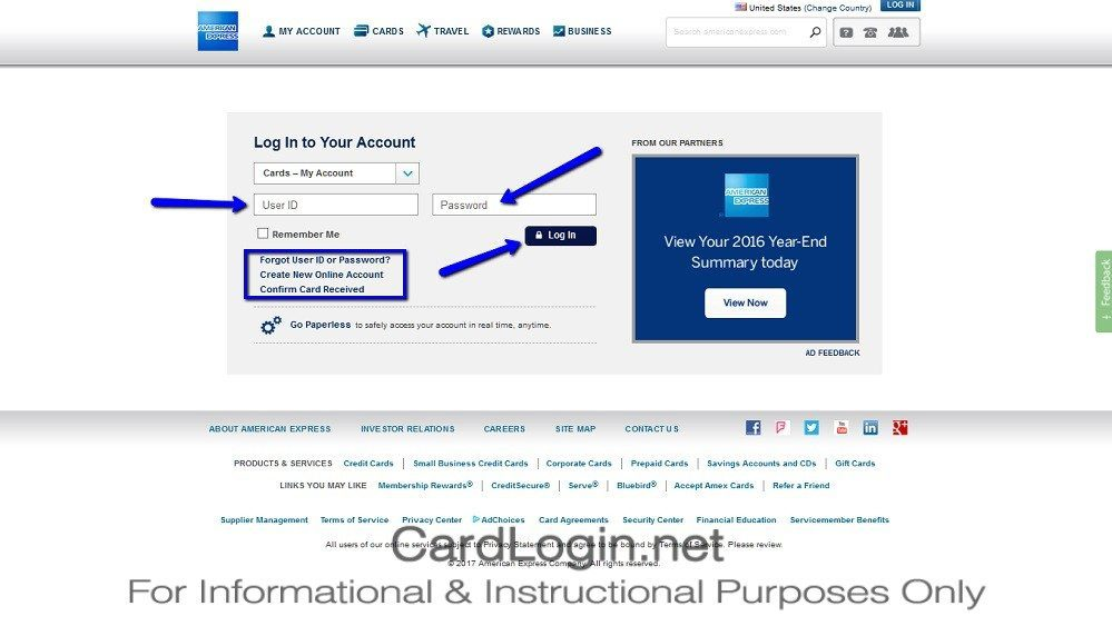 Hilton Honors American Express Credit Card Login