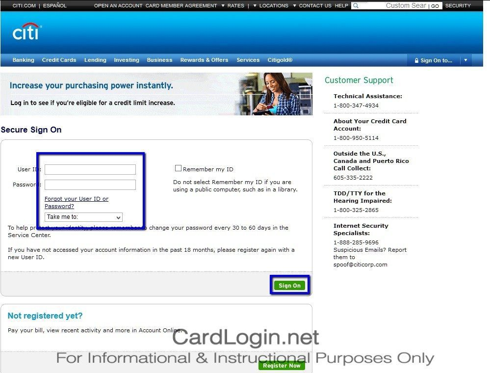 Citi_Expedia+_Credit_Card_Login