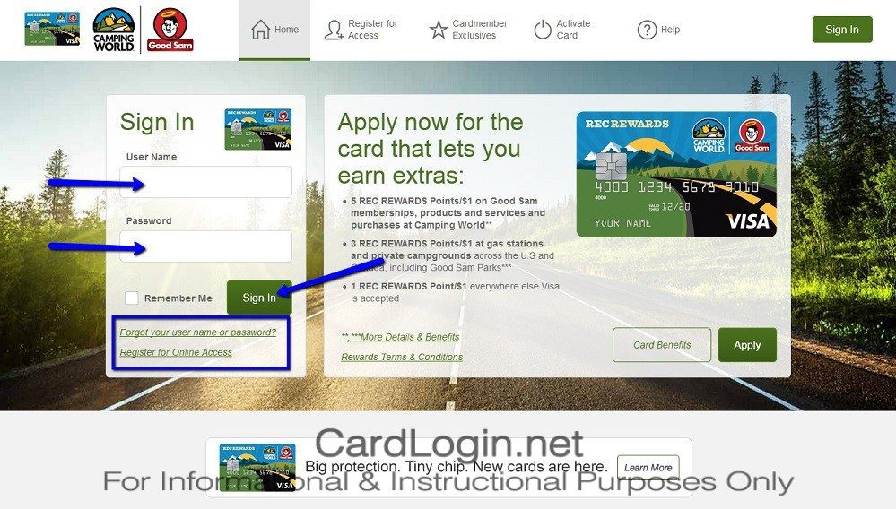 Good_Sam_Camping_World_Visa_Credit_Card_Login