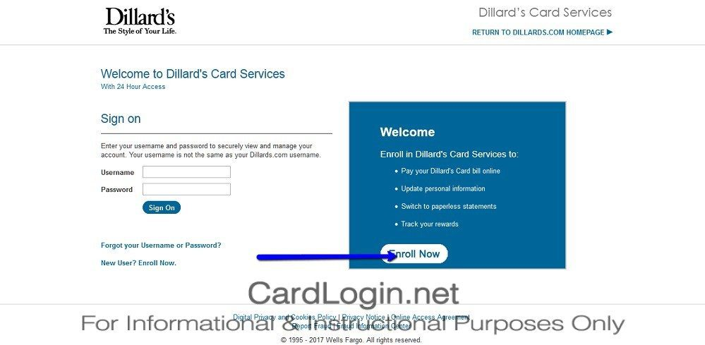 How_To_Activate_Dillards_Credit_Card_Step_1