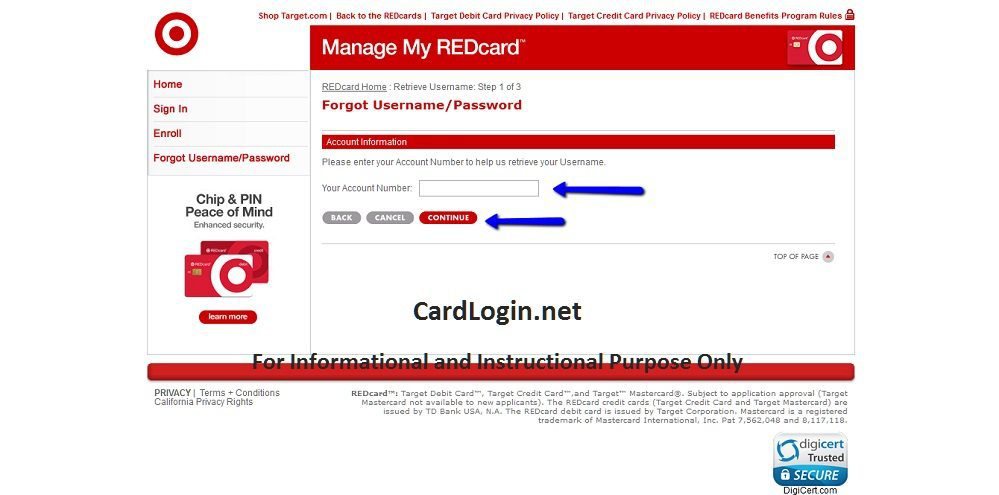Target_Redcard_Credit_Card_Forgot_Username