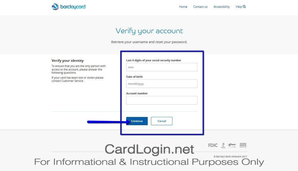 Forgot Your Carnival Cruises Credit Card User ID Or Password